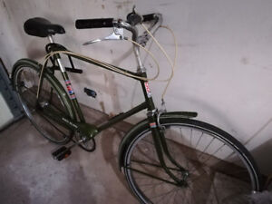1975 CCM 3 speed bicycle