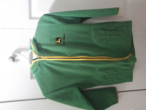 John Deere Fleece Jacket - Sz 8