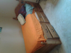 Contents sale, pool table, captains bed...