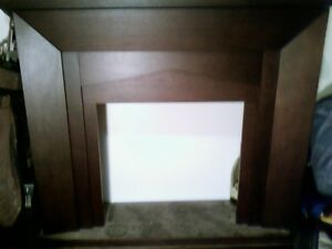 fireplace, with no insert