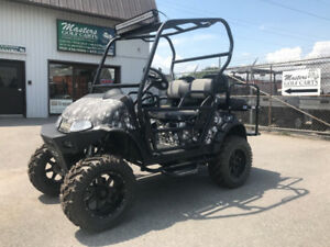 2015 Gas Customized EZGO Golf Cart with Hydro Dip Body