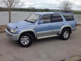 TOYOTA HILUX SURF 3.0 SSR-G LIMITED EDITION AUTO 4X4 BLUE