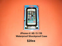 iPhone 4 / 4S / 5 / 5S / 5C.... Waterproof / Shockproof Case