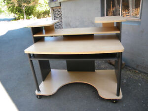 Desk - very solid and functional