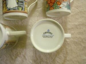 SET OF 5 SADLER WILLINGTON COFFEE MUGS Sarnia Sarnia Area image 3