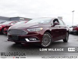 2017 Ford Fusion SE  - Low Mileage