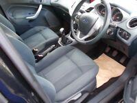 Ford Fiesta ZETEC++SERVICE HISTORY+2 KEYS++ (black) 2010