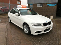 2010 BMW 318 2.0 i M-SPORT SALOON,ONLY 91000 MILES WITH FULL SERVICE HISTORY,