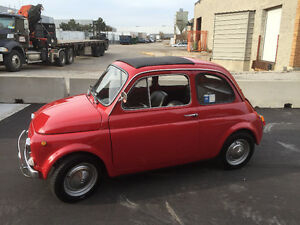 1969 Fiat 500 Classic Mint !!! Imported from Sicily !!!