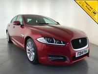 2014 JAGUAR XF R-SPORT DIESEL AUTOMATIC REVERSING CAMERA 1 OWNER SERVICE HISTORY