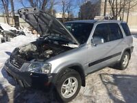 NO RUST and Safetied Automatic 2000 Honda CR-V in mint condition