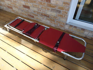 Ferno Model 107 Stretcher / Chair Made in USA 350lbs