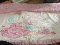 Next cot bedding set Molly & Mia mouse