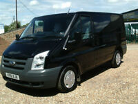 Ford Transit 2.2TDCi Duratorq swbTREND 115PS 6SPEED IN RARE MET BLACK AIR CON
