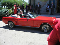 classic torch red 67 mustang convertible