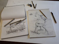 WORKSHOP: DRAWING WITH PEN &INK