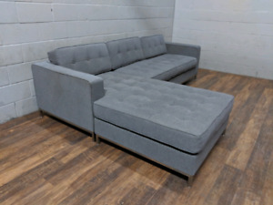 Gus Modern 'Jane' Bi-Sectional sofa. FREE DELIVERY​