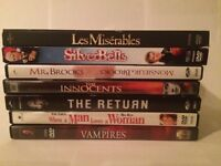 **SMALL DVD LOT OF 7 GREAT MOVIES**