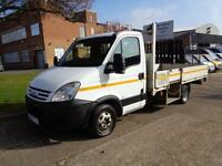IVECO DAILY | 2.3 TD | DROPSIDE - XLWB | TWIN-WHEEL | 13.6 FT BODY | 2008 MODEL