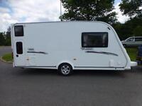 Elddis Avante 464 4 Berth Caravan Bunk Beds