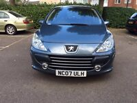 Peugeot 307 sports car-full Leather interior