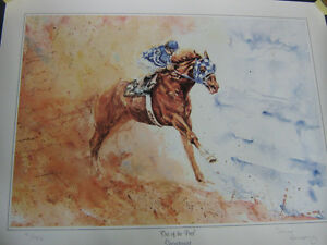 SECRETARIAT SIGNED & NUMBERED PRINT by SALINA RAMSAY