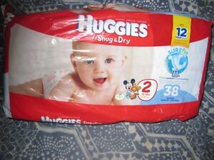 38 size 2 diapers