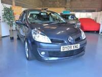 2009 09 Renault Clio 1.2Tce Dynamique S, Low Tax