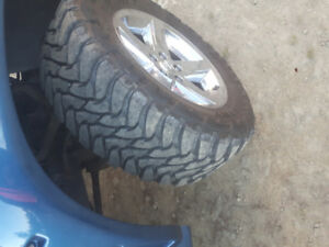 Dodge ram rims and 35 inch toyo tires