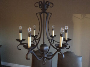 Chandelier for over dinning room table