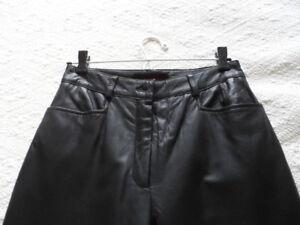 Pantalon en véritable cuir pour dame