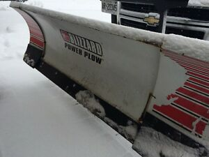 BLIZZARD SNOW PLOW ON 2008 CHEV GMC POWER WING EXPAND