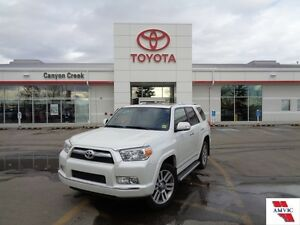 2013 Toyota 4Runner LIMITED ONE OWNER BLIZZARD PEARL