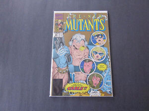 New Mutants 87-1st app Cable in comics