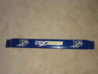 FOR REAL BOMBER FANS ONLY!!! Blue Bomber Door Push Bar