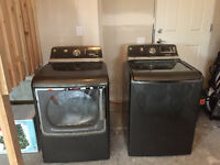 GE Washer and Dryer (Gas) For Sale (1 Year Old)