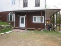 logement rdc dans maison laurentides