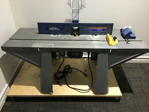 Mastercraft Plung Router and Table