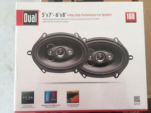 4 way High Performance Car Speakers- Brand New- Never Used