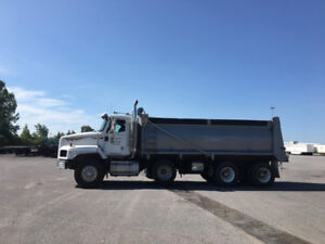 Tri-Axle Dump Truck For Sale