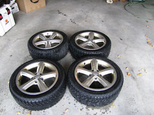 Genuine Audi A4 Rims with Snow tires
