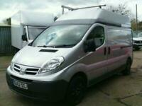 86ed9456fe Nissan Primastar SE LWB High top Window fitters van with side frail 2012 62