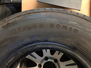 TRAILER TIRE - USED - $75
