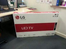 TV - LG49 inch