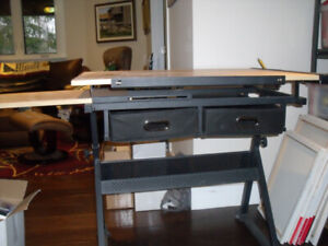 Art and Crafts table - desk from Michaels