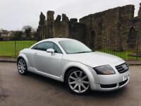 2004 (53) Audi TT Coupe 180bhp T quattro ** Low Miles, New Mot On Purchase **
