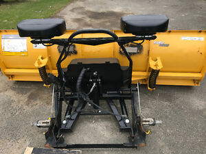 Minute mount plow and accessories