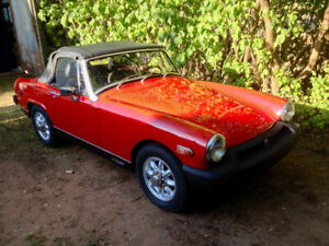1978 MG Midget Reduced to $5500.