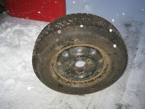 4 WINTER TIRES & RIMS  FOR SALE