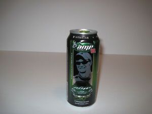 Nascar's Dale Earnhardt Jr. Collectable Amp Energy Can